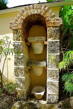 Barbados: Drip-stone Filtration (George Washington House)