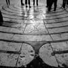 Chartres: Labyrinthe, Cathédrale Notre Dame de Chartres, France
