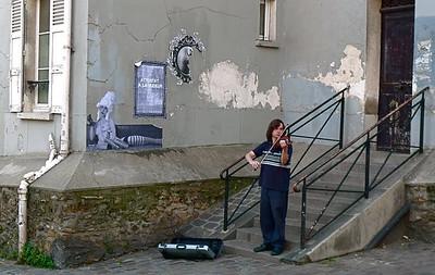 Paris: In Montmartre, a violin soloist finds a singular setting.