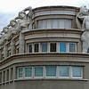 "FEATURED WORK: Dying Slave Redux (Hotel de Police), Paris, 2008<br /> <br /> Finalist -- Photographer´s Forum Magazine's 29th Annual Spring Photography Contest of 2009, and was later published in its hardcover compendium, ""Best of Photography 2009.""<br /> <br /> This curious building is located on Avenue Daumesnil in Paris's 12th arrondissement, near the Gare de Lyon. It is viewed from the Promenade Plantée, a linear park--like the High Line it inspired in New York City--that converts an ancient elevated railway into a modern greenway. Although the building's showy façade evokes a Hollywood set piece à la Busby Berkeley, it is actually a police headquarters.<br /> <br /> The building's atlantes figures are replicas of ""The Dying Slave,"" a statue by Michelangelo, whose original is in the city's Louvre Museum.<br /> <br /> <br /> My photo of the atlantes on Paris' Hotel de Police building culminates Victoria Ivanova's article about the Promenade Plantée on the Avenue Daumesnil (the original High Line):<br /> <a href=""https://studiosparis.wordpress.com/2012/09/06/j-comme-jardin/#comment-250"">https://studiosparis.wordpress.com/2012/09/06/j-comme-jardin/#comment-250</a>"
