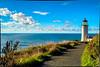 North Head Lighthouse — Olympic Peninsula, Washington USA