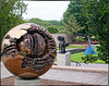 Sphere No. 6 (Sphere within a sphere) by Arnaldo Pomodoro (Italian, b. 1026) — Smithsonian Hirshhorn Museum and Sculpture Garden Collection