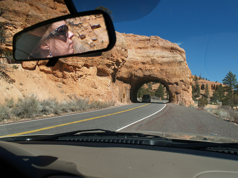 Enroute to Bryce Canyon, Utah, April 12, 2006.