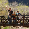 Family at Zion National Park, Utah, April 12, 2006.