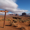 John Ford's Point, Monument Valley Navajo Tribal Park, Navajo Nation, April 15, 2006.