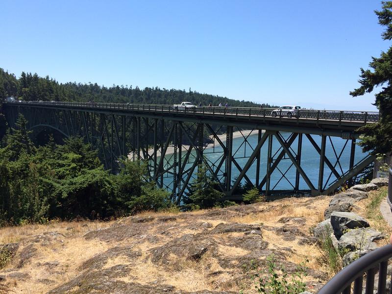 Deception Pass Bridge - looking South