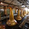 En los mas chicos se hace la segunda destilacion para aumentar el porcentaje de alcohol en el liquido.