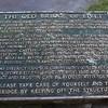 Placa del puente.