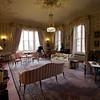 Este es el Drawing Room, con piano de cola y todo. Daba ganas de agarrar un libro, un vaso de whisky y ponerse a leer.