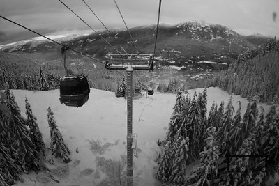 Snowboarding at Whistler Blackcomb in British Columbia, Canada.  © Copyright m2 Photography - Michael J. Mikkelson 2009. All Rights Reserved. Images can not be used without permission.
