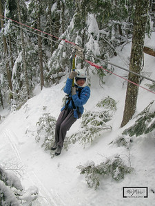 ZipTrek, Whistler, BC: Images Captured on a Canon G9  © Copyright m2 Photography - Michael J. Mikkelson 2009. All Rights Reserved. Images can not be used without permission.