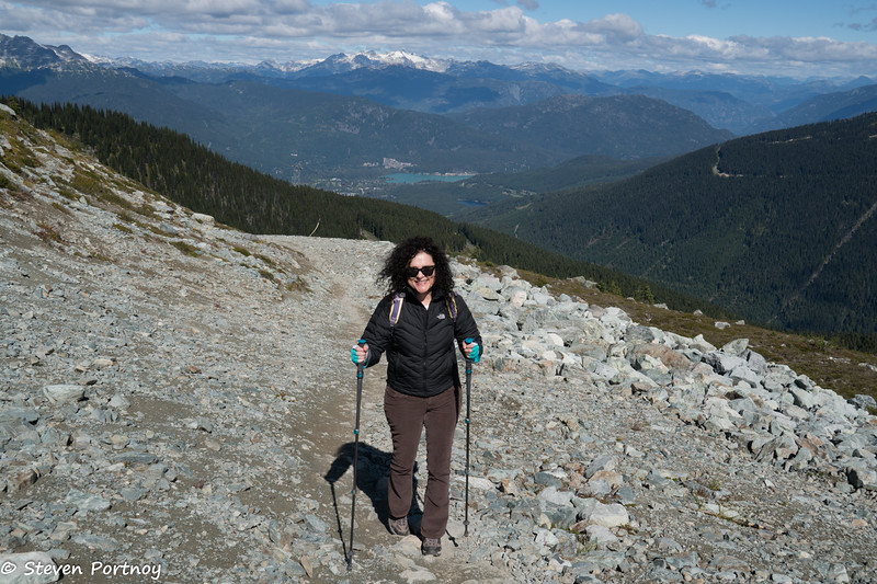 Carmen on Whistler Mountain