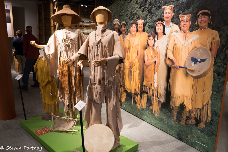 Deerskin clothing, Squamish Lil'wat Cultural Center