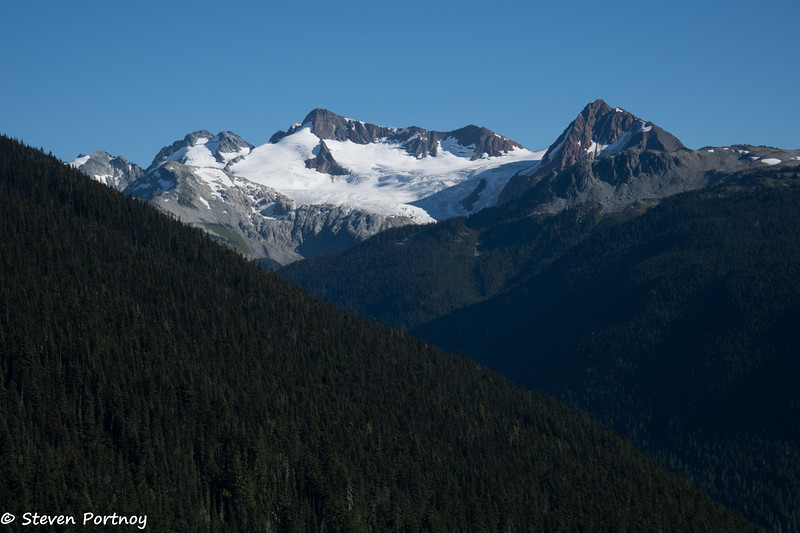 View of Mt. Fitzsimmons and Overlord Mountain from Peak to Peak Gondola