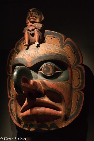 Sun/Thunderbird Mask, Audain Art Museum