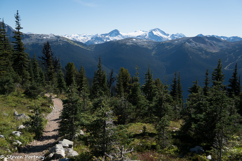 View of Overlord Mountain from Blackcomb Mountain