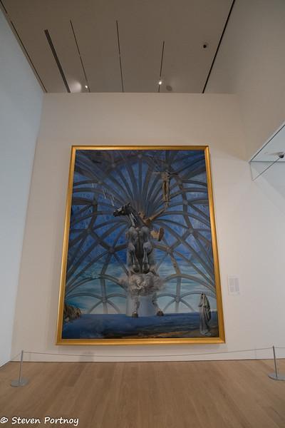 Santiago El Grande by Salvador Dali, Audain Art Museum