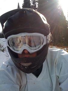 Mountain biking at Whistler
