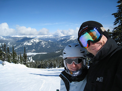 David and Margaret at Blackcomb