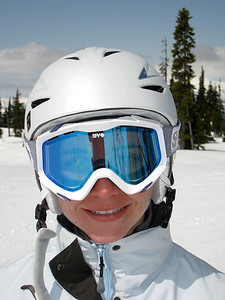 Margaret Skiing Blackcomb
