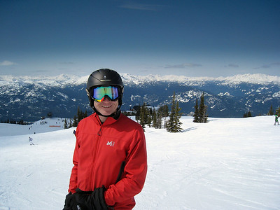 David Skiing Blackcomb