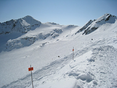 The Backcomb Glacial Bowl