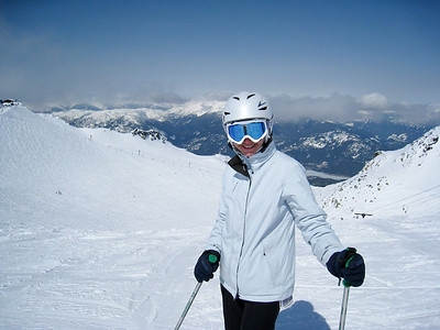 Margaret on Blackcomb Mountain