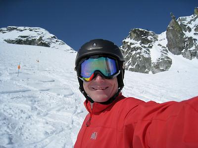 David at The Backcomb Glacial Bowl