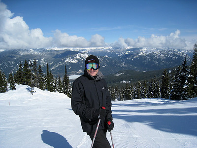 David at Blackcomb