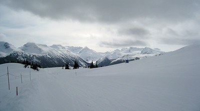 Blackcomb Mounain from Whistler