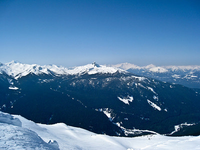 The Black Tusk From Whistler Peak