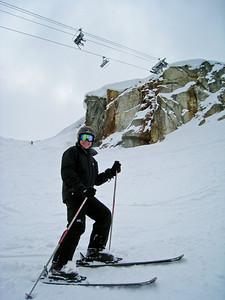 David Under Whistler Peak