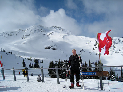 David at the Whistler Gondola Station