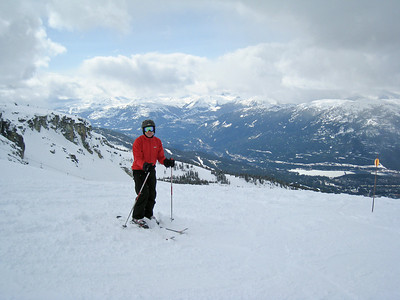 David Skiing Whistler