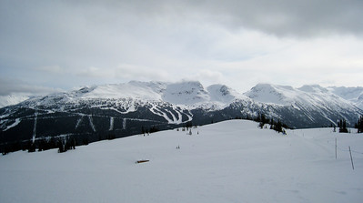 Seventh Heaven (Blackcomb) from Whistler Mountain