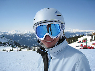 Margaret on Whistler Mountain