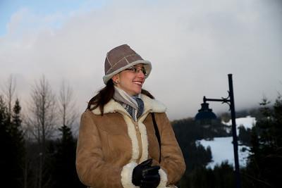 Margaret at Whistler Village