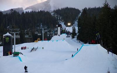 Telus Snowboard Festival Whistler Village