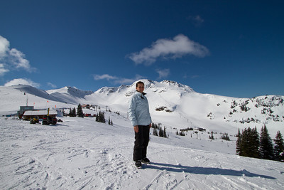 Margaret on the Whistler Mountain Slopes