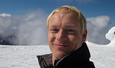 David at the top of Whistler Mountain