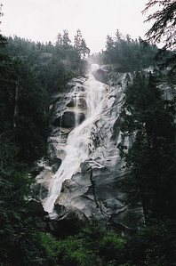 The top of Shannon Falls