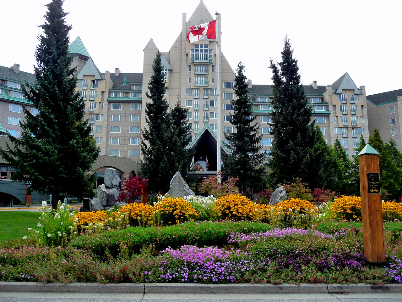 Chateau Whistler (actually in Blackcomb)