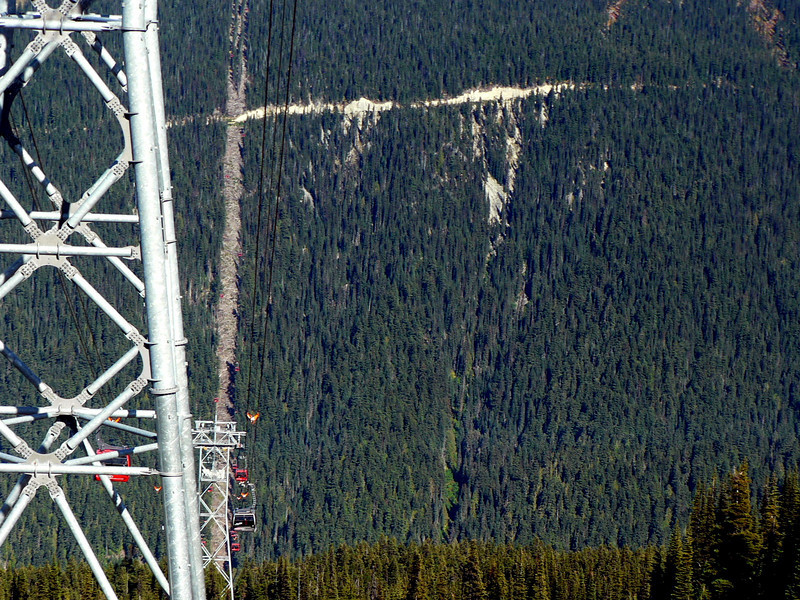 Peak 2 Peak claims the longest unsupported span in the world (1.88 miles)