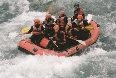 White Water rafting in the Green River