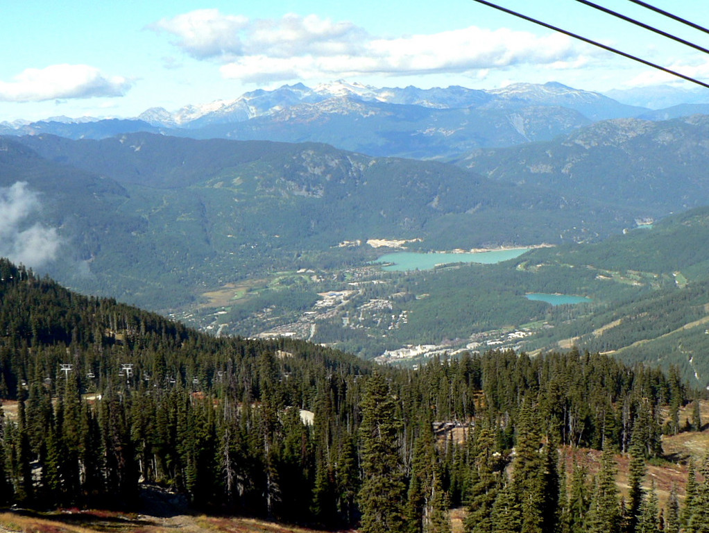 Whistler/Blackcomb down below