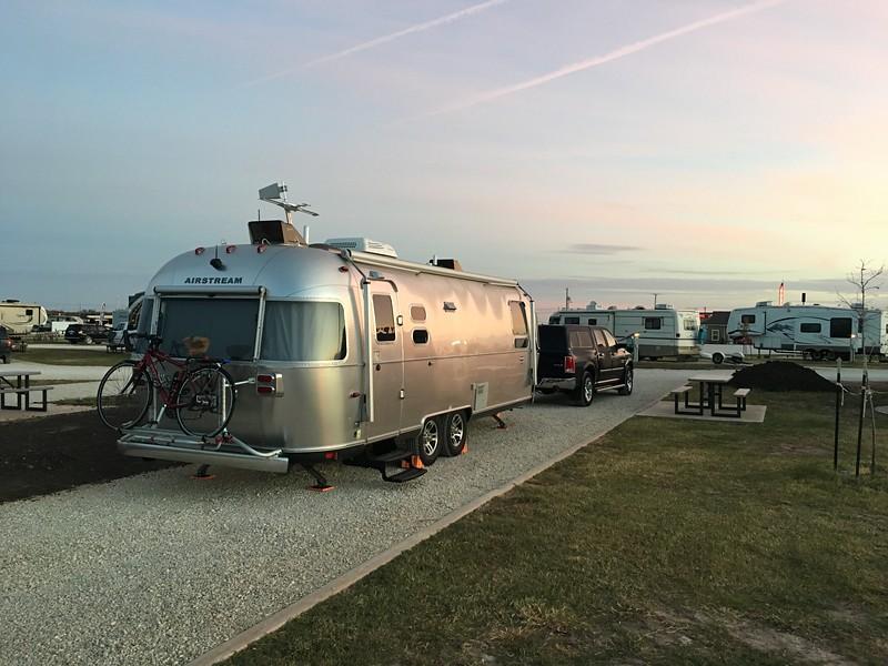 Nice, spacious campsite