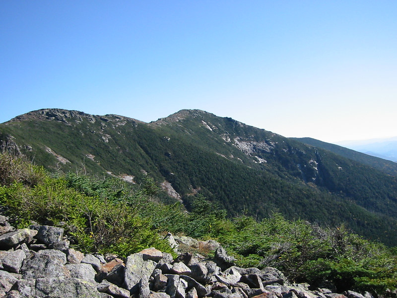 Mount Haystack. On the way down form Mount Lafayette