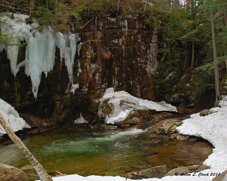 The pool below the lower falls