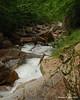 Just below the falls
