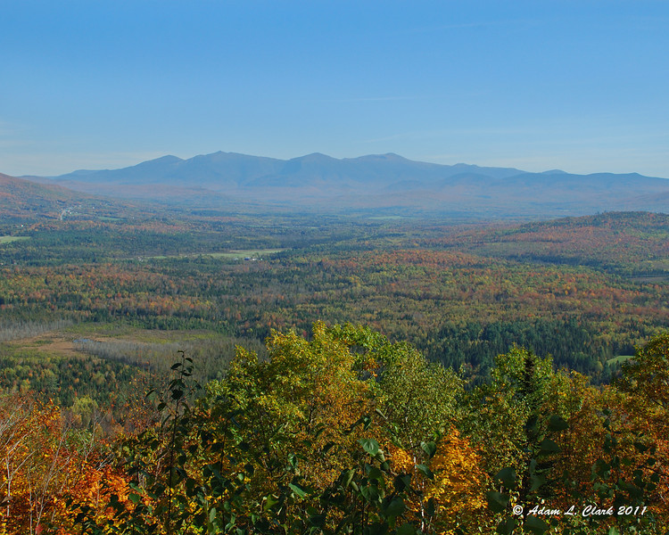 Presidential Range to the Southeast